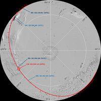 Schema průletu kolem Marsu - 902x902x16M (129 kB)